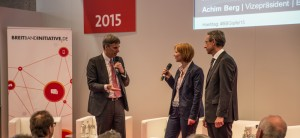 Achim Berg (links), Hannes Schwaderer (rechts)