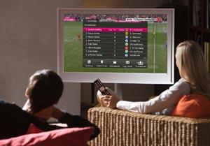 Entertain TV via VDSL