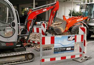 Ausbau Glasfasernetz für VDSL in Köln