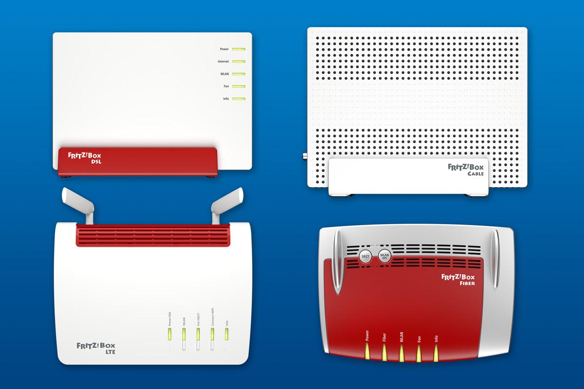 AVM bringt FritzBox 20, 20 und 20 / 20 mit zum MWC