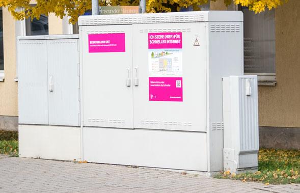 VDSL Ausbau Telekom