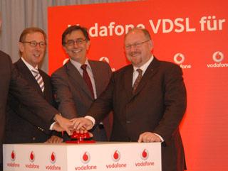 Vodafone VDSL-Pilotprojekt in Heilbronn